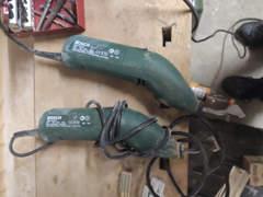 22040 2x Elektroschaber Bosch PSE 180E