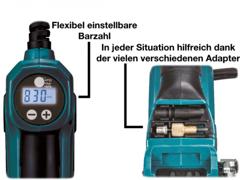 22120 Akku Kompressor inkl Zubehör 8,3bar