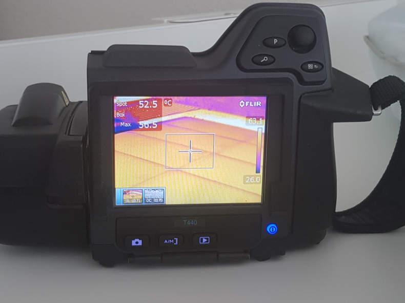 22160 Wärmebildkamera FLiR t440