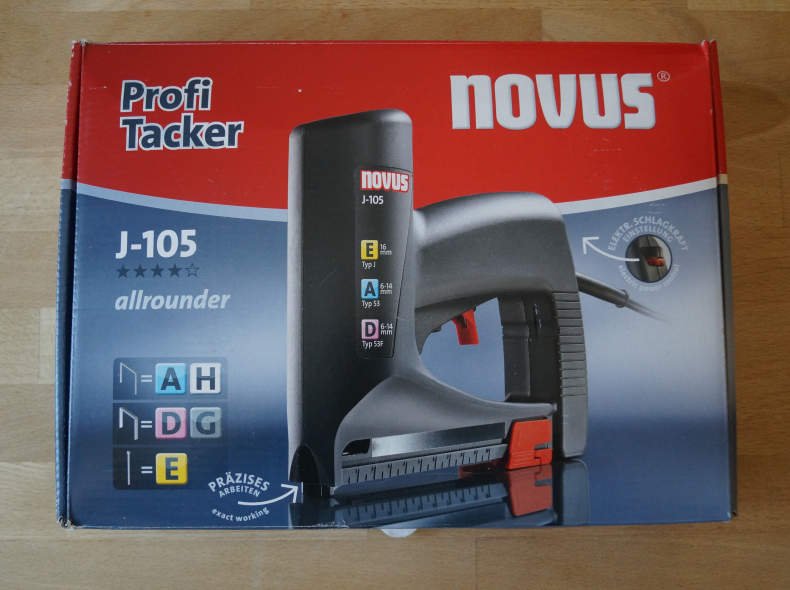22350 Elektrotacker Novus J-105