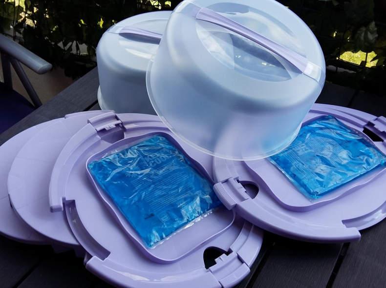 22207 Torten  Behälter mit Kühlung