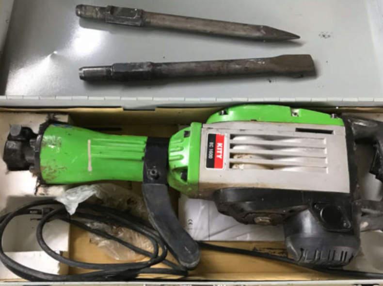 22449 Bohrhammer, 1800 W, ca. 20 kg, 40 J