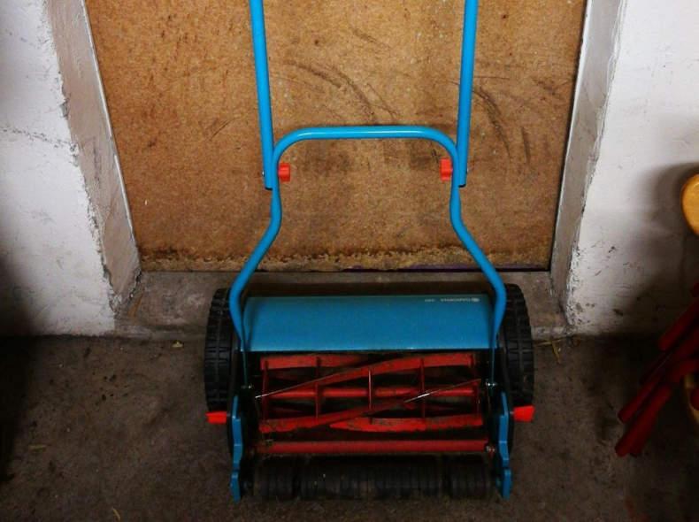 22511 Rasenmäher manuel ohne Strom