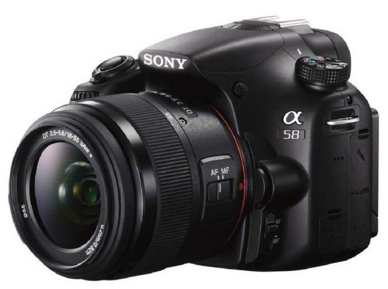 22569 Sony Alpha 58 - Hobbykamera