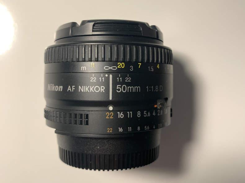 22699 AF Nikkor 50mm f/1.8D Nikon
