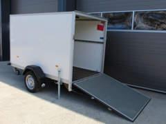 22621 Kofferanhänger / Motorrad Anhänger