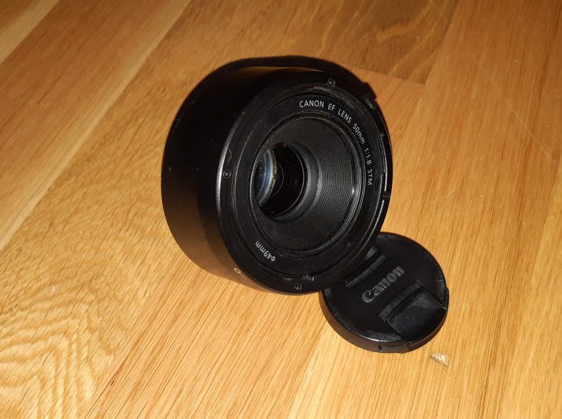 22861 Canon Objektiv 50mm f1.8 STM