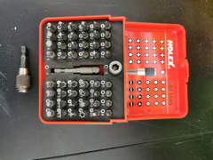 22876 Schlagschrauber mit Bitsatz