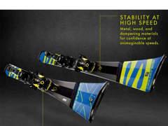 22907 Ski Salomon 1.72m