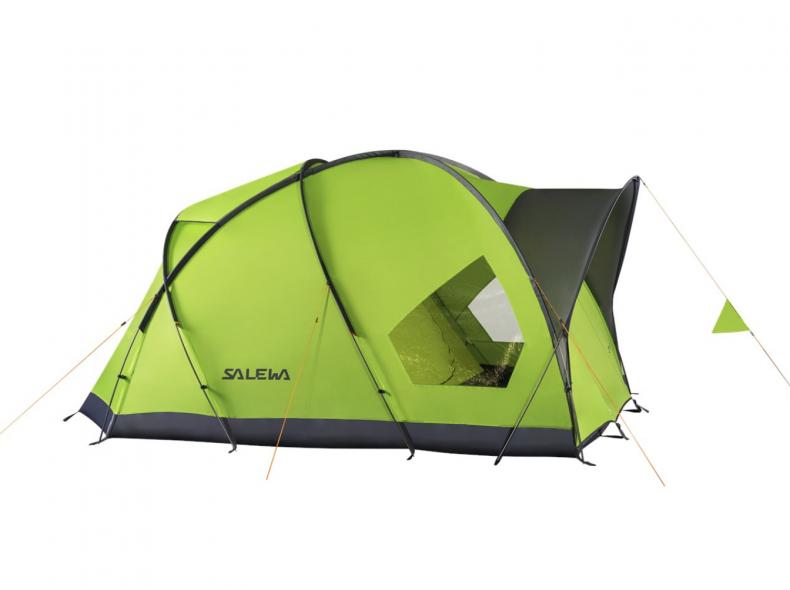 22924 4er-Zelt «Alpine Hut IV» von SALEWA