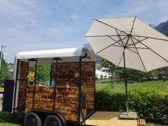 22997 Eventmobil Barwagen Horseboxtrailer