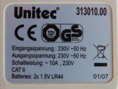 23157 Energiekostenmessgerät Unitec (1)