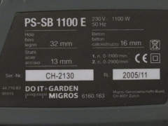 23212 Schlagbohrmaschine miolectric PS SB