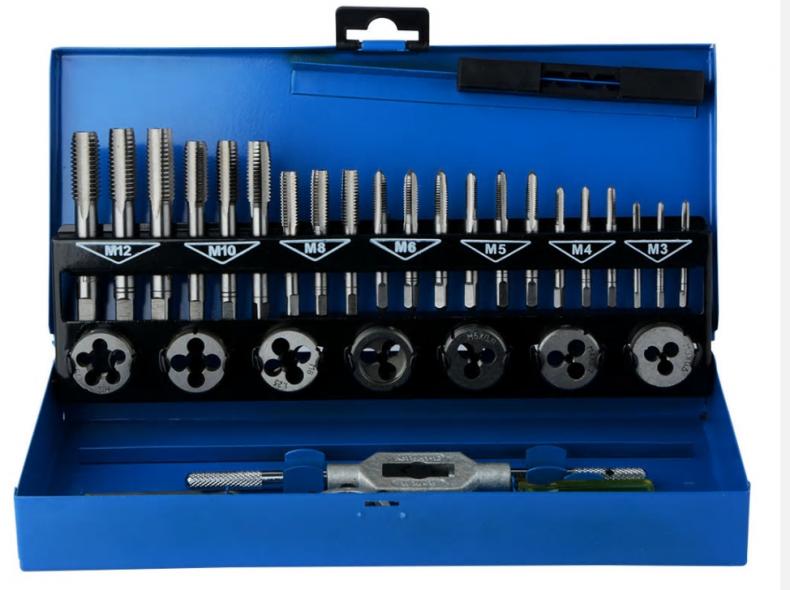 23440 Gewindeschneider Set M3 - M12