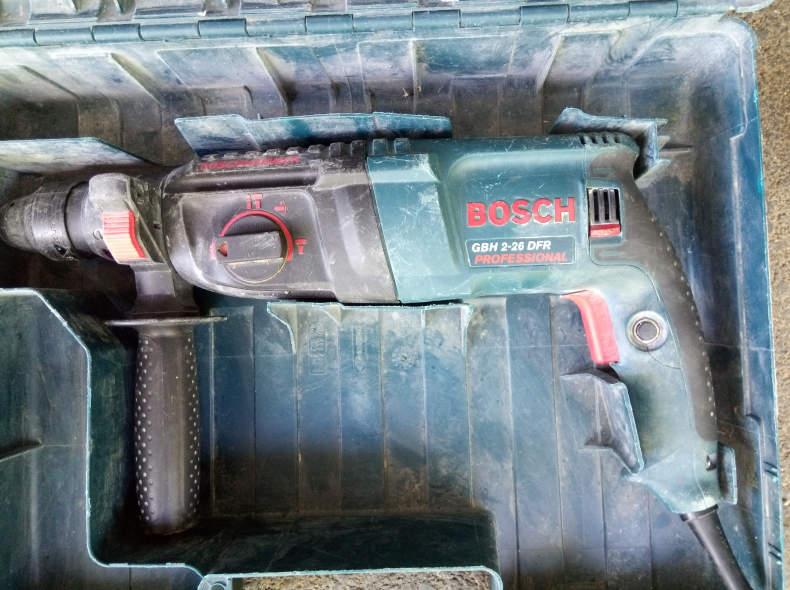 23446 Bohrhammer Bosch mit Zubehör