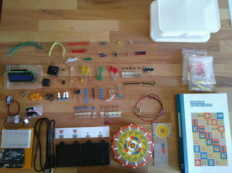23477 Arduino Starter-Kit mit Handbuch
