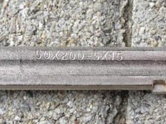 23525 Schraubzwingen 50x200 mm