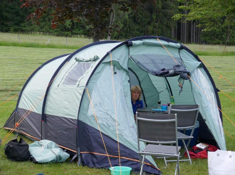 23599 Zelt 3 bis 4 Personen
