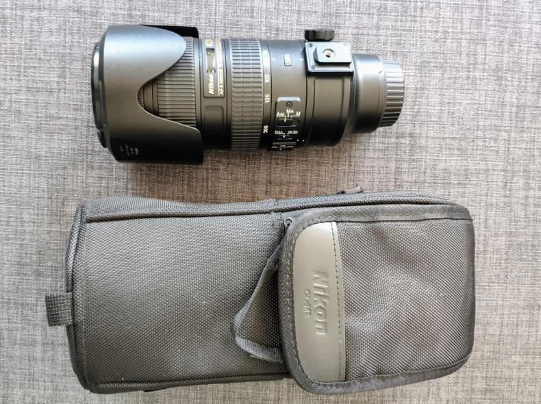 23614 Nikon AF-S 70-200mm, f/2.8G ED VRII