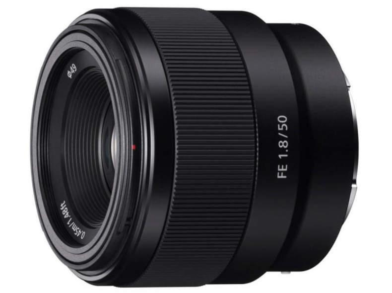 23654 Sony FE 50mm F1.8 E-Mount Objektiv