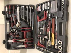 23675 Werkzeugkoffer Kraftfeld 88-teilig