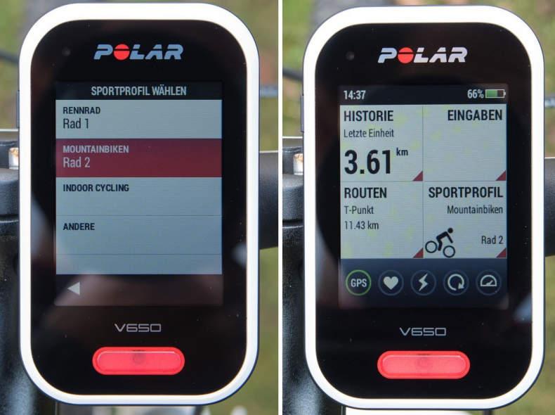23694 Fahrradcomputer - Polar V650 N