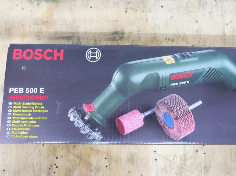 23735 Bosch Multi Schleifbürste PEB 500 E