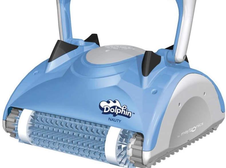 """23889 Delphin-Roboter """"Nauty"""" pool robot"""