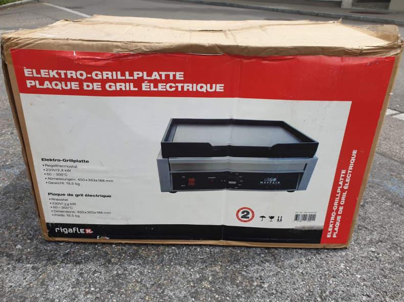 23947 Elektro Grillplatte Gastro