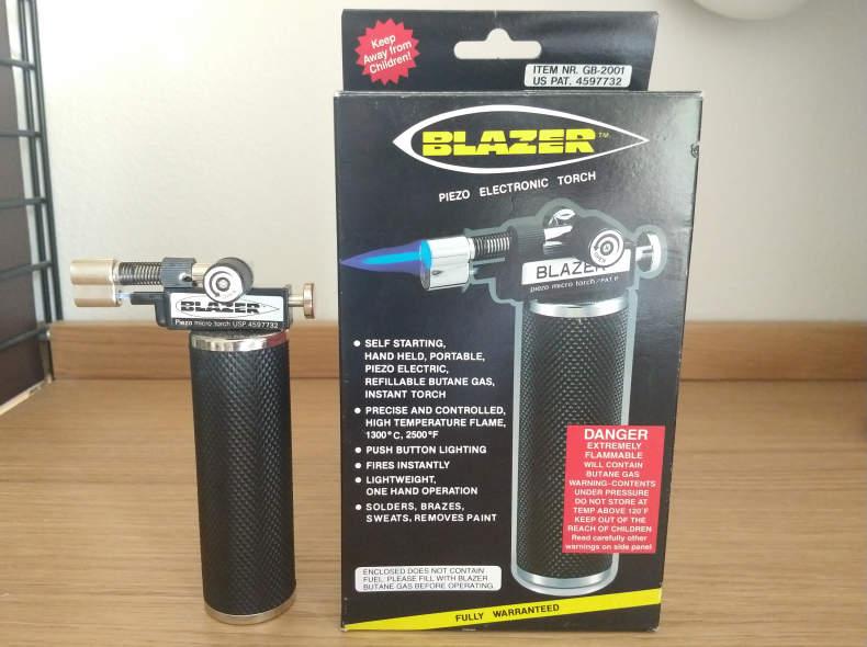 24178 Blazer butane micro torch