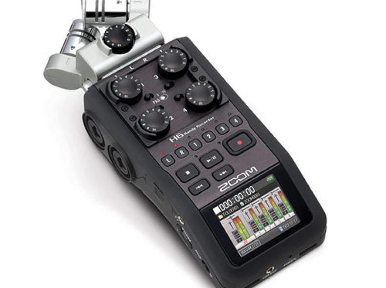 24244 Zoom H6 Audio-Recorder