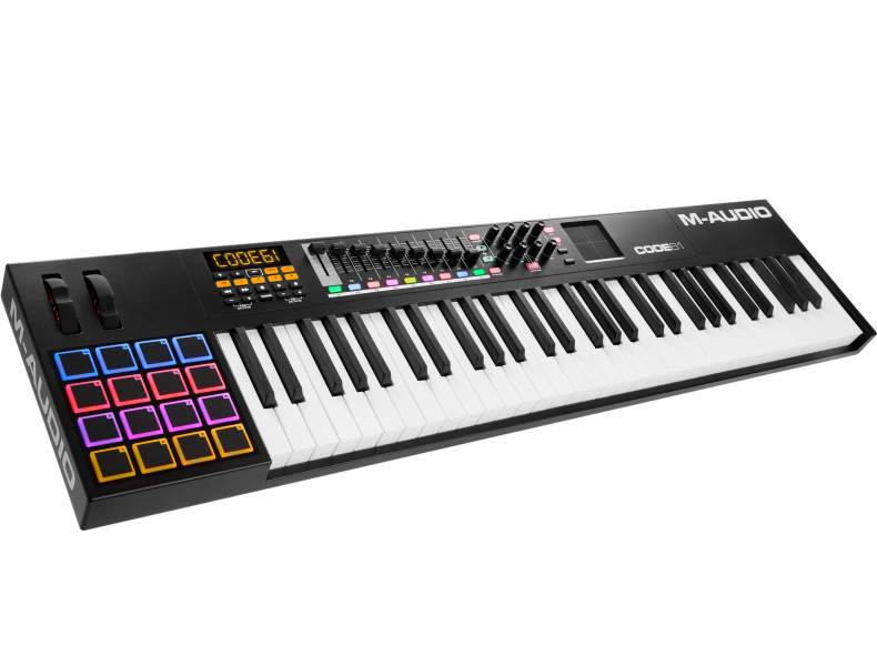 24259 M-Audio Code 61 Midi Keyboard