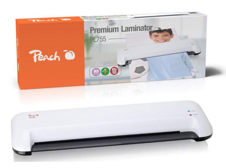 24351 Peach Laminiergerät PL755 A3 125 µm