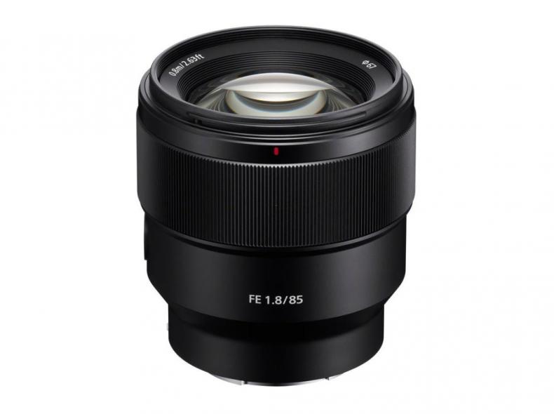 24521 Sony FE 85mm 1.8, Full Frame E-Moun