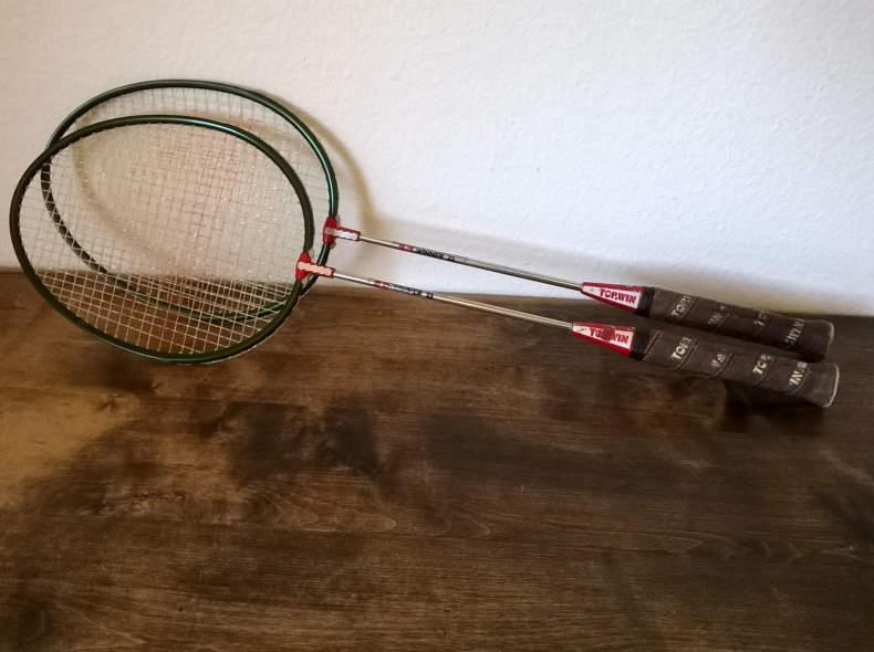 24573 Paar Badminton Rackets