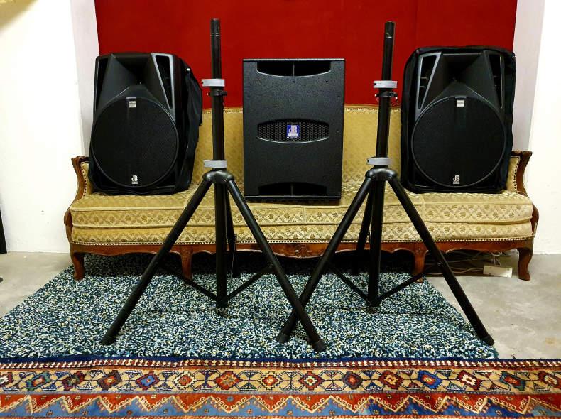 24738 PA-Anlage, Soundsystem 2.1