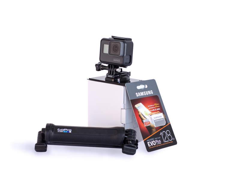 24745 Go Pro Hero 5 mit micro SD (128 GB)