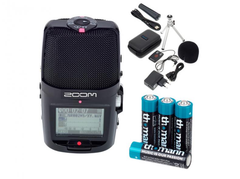 24784 Aufnahmegerät Zoom H2n Bundle