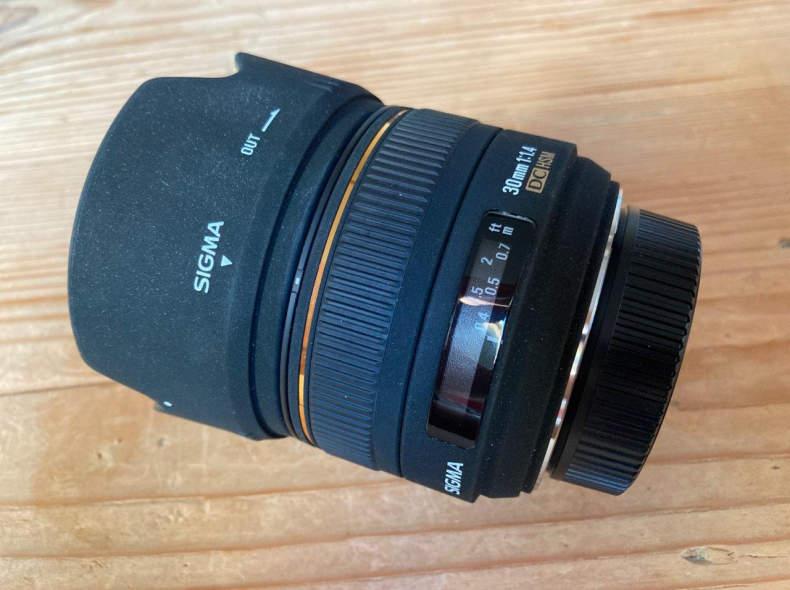 24829 Sigma 30mm f1.4 DC HSM
