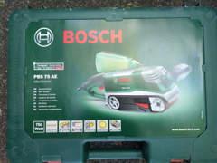 24835 Bandschleifer Bosch PBS 75AE