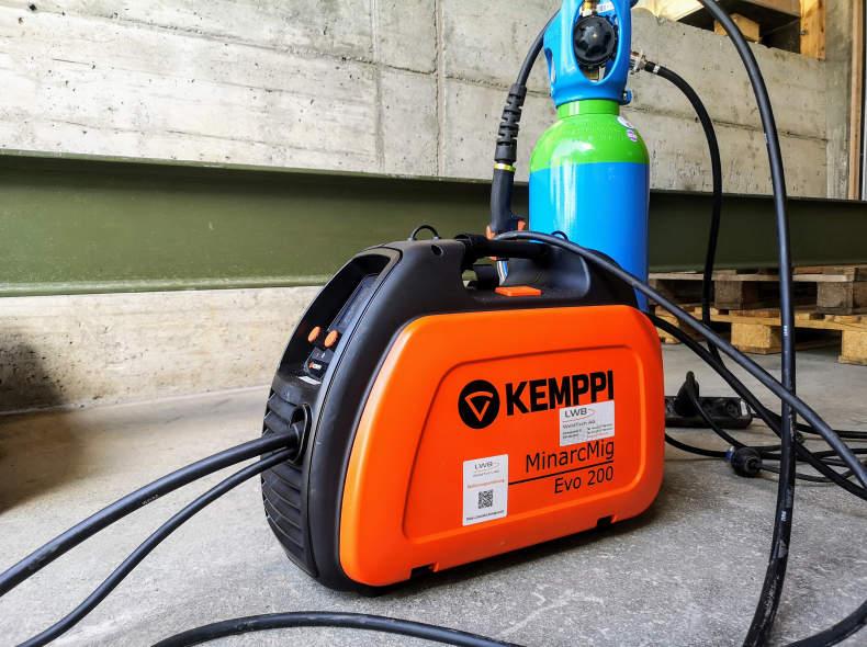 24897 Mobile Schweissanlage Schutzgas