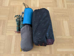 25037 Hängematte Trekking Set inkl. Tarp