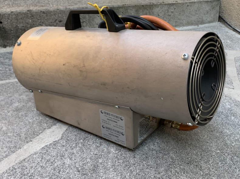25042 Gas Heizlüfter | Gas Heizung