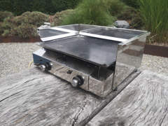 25061 Plancha Barbeque Outdoor Grill Gas