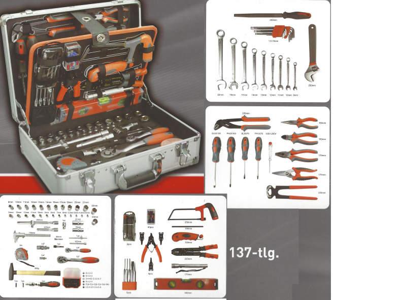 25312 Werkzeugkoffer 137-teilig