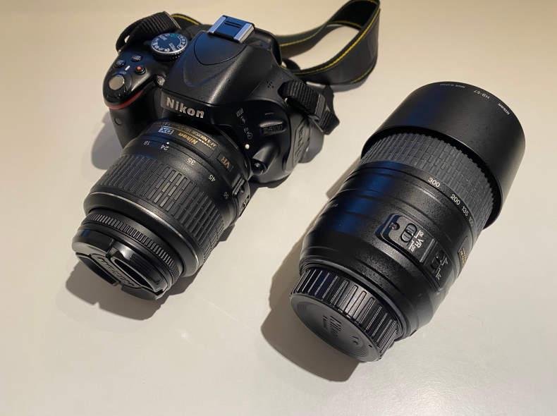 25445 Nikon D5100 inkl. 2 Objektive