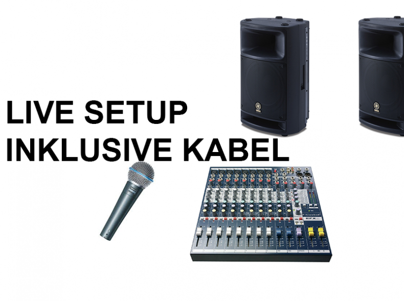25463 Livemusik Equipment