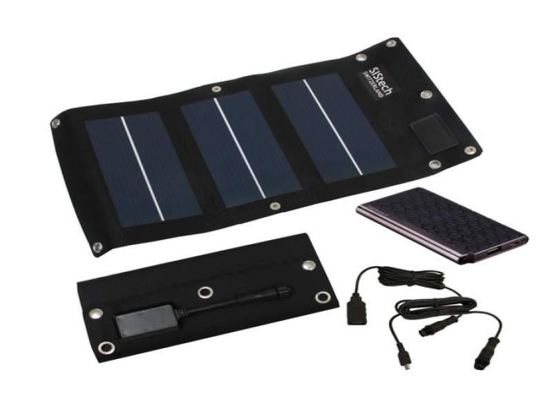 2701 Handy-Solarladegerät mit Akku