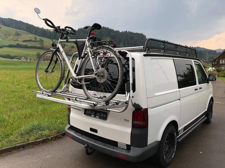 25585 VW T5 Original Fahrradträger