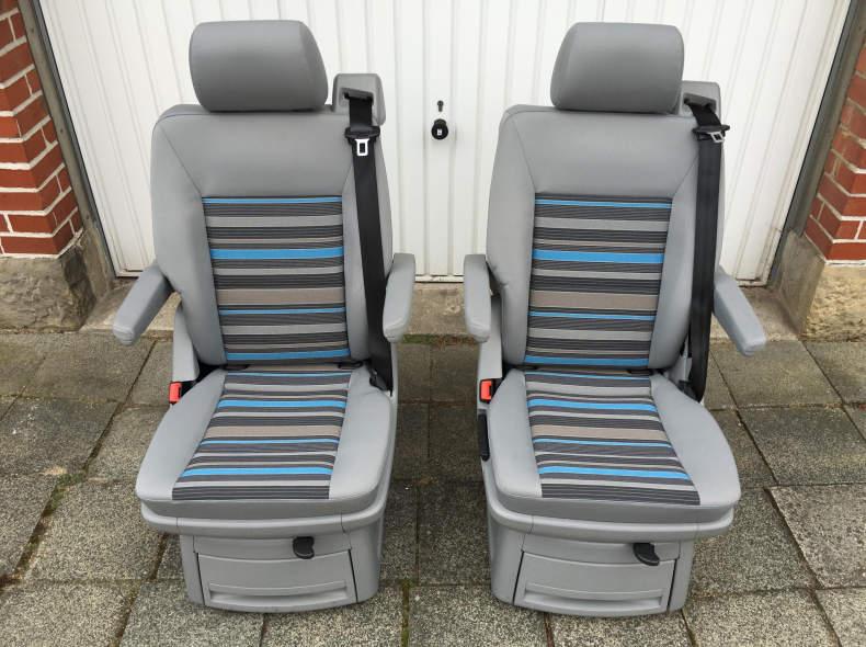 25586 VW T5 T6 Einzelsitze